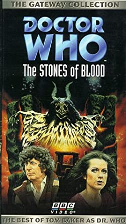 """Signed by TOM BAKER /""""The Stones Of Blood/"""" Episode Dr Who"""