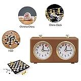 DSFGEG Chess Clock Timer Analog Portable,The Same
