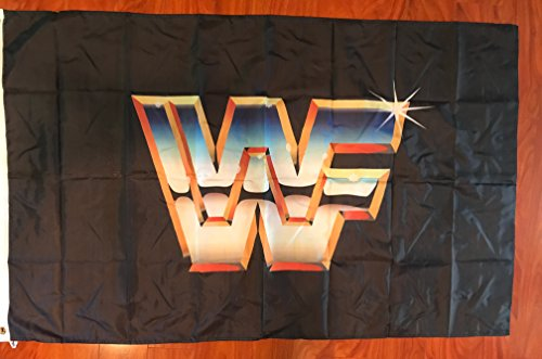 WWF World Wrestling Federation Wrestling 3'x5' flag banner sign WCW, WWF, WWE -