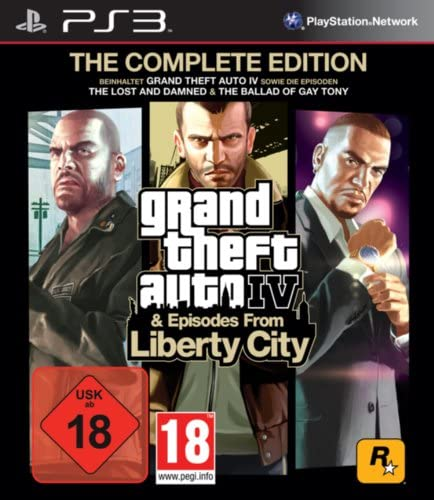 Take-Two Interactive Grand Theft Auto IV - PS3 - Play Station 3
