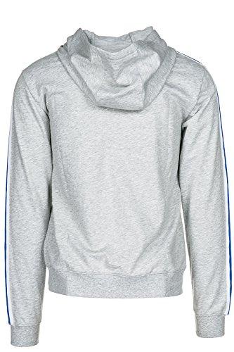 Emporio Armani EA7 felpa con cappuccio uomo grigio