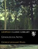 img - for Genealogical Notes book / textbook / text book