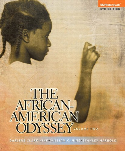 The African-American Odyssey: Volume 2, Books a la Carte Edition (6th Edition)