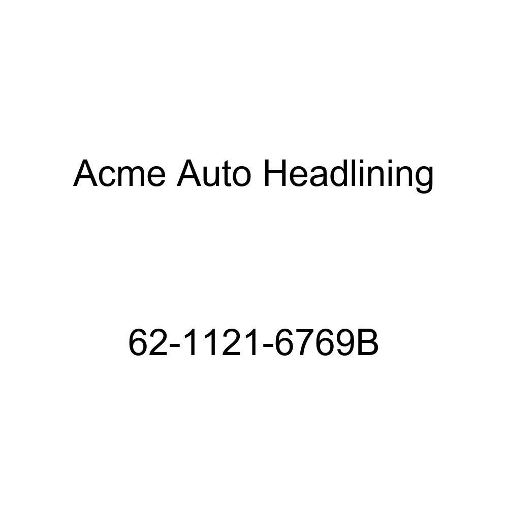 1962 Buick Skylark 2 Door Coupe Acme Auto Headlining 62-1121-6769B Black Replacement Headliner