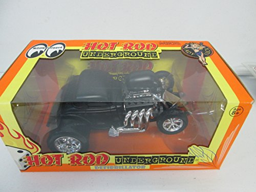 Hot Rod Underground Defibrillator die-cast collectible car (Black)