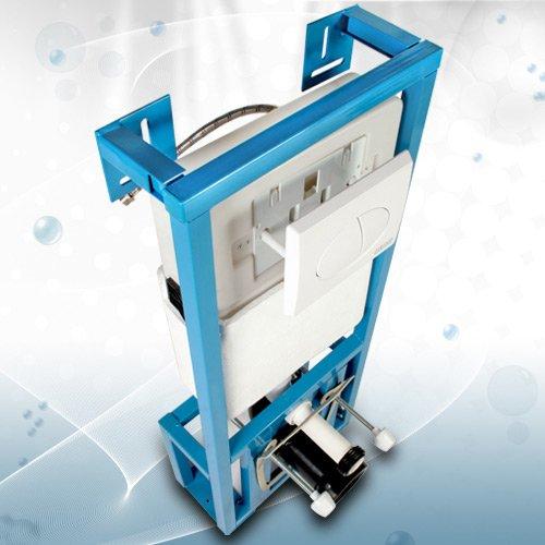 wei/ß WSPK01 WC-Vorwandelement Sp/ülkasten mit guter Schallisolierung