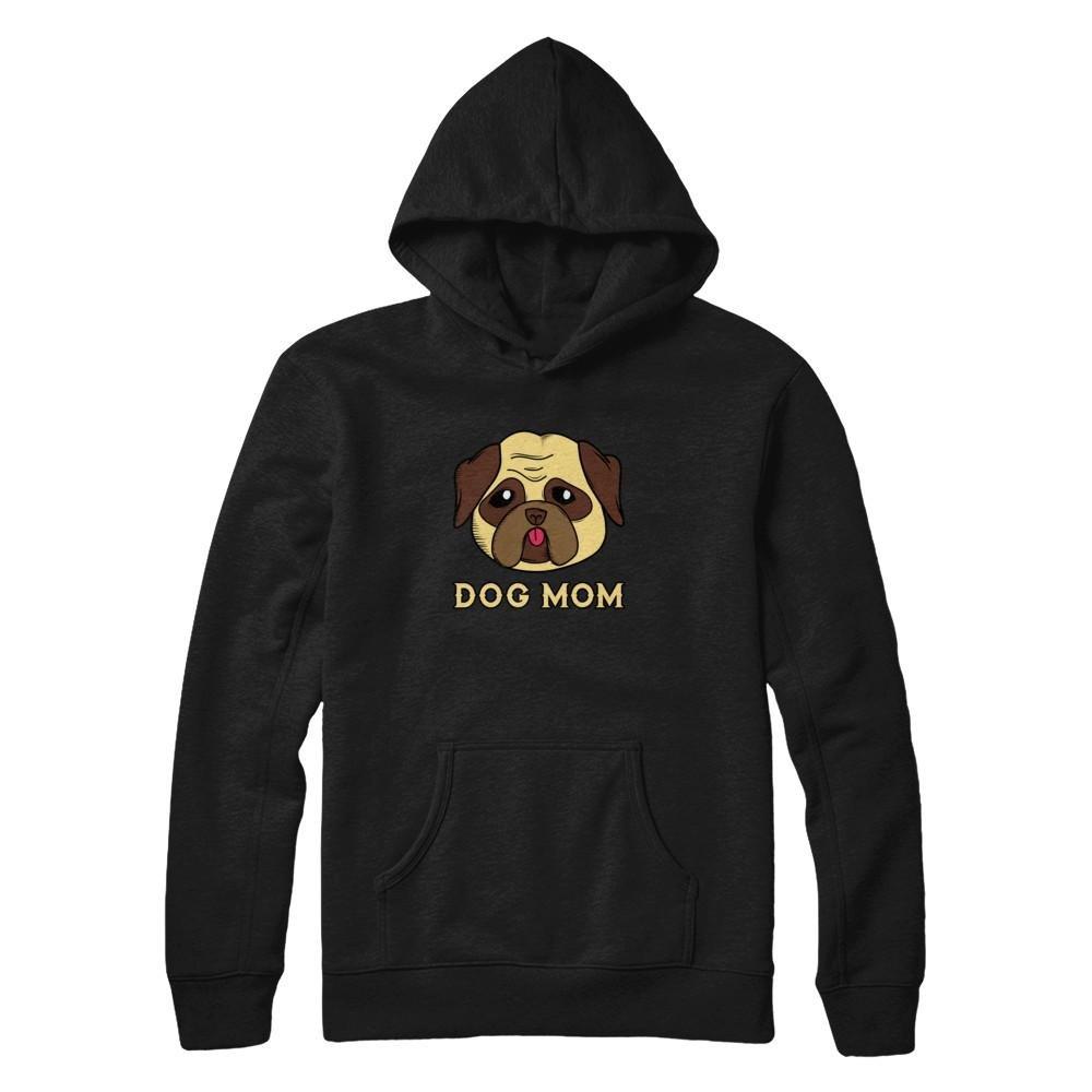 Teely Shop Womens Dog Mom English Bulldog Gift Gildan Pullover Hoodie