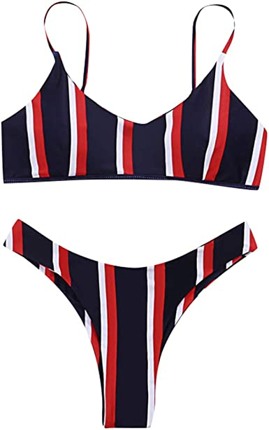 Bikini Halter Mujeres Set Triangle Bottom Beachwear Color Sólido Ropa de baño Bañadores Mujer Traje de Baño de Dos Piezas Tankini Bikini Mujer De Baño Beachwear Tallas Grandes Bikinis Mujer Bañadores: Amazon.es: