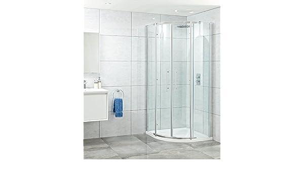 Phoenix Elegance 8 mm doble Quad para mampara de ducha 1000 mm x ...
