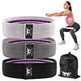Resistance Bands for Legs and Butt,Exercise Bands Set Booty Bands Hip Bands Wide Workout Bands Sports Fitness Bands Resistance Loops Band Anti Slip Elastic (Set 3)