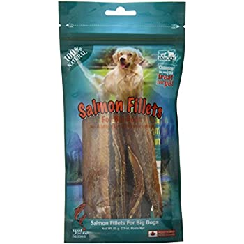 Snack 21 Salmon Jumbo Fillets Snack for Dogs