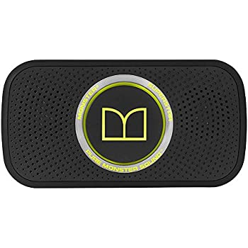 Monster Power Superstar High Definition Bluetooth Speaker (Black/Green)