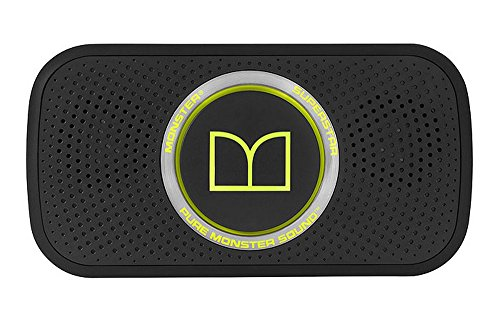 Monster Power Superstar High Definition Bluetooth Speaker (Black/Green) -