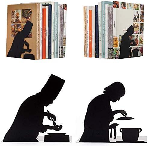 Artori Design Kochen nach Vorschrift | Buchstütze für Kochbücher | zwei Köche | Buchhalter für die Küche | Geschenk für Köche