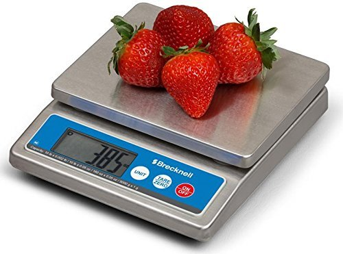 Brecknell Model 6030 with AC adapter included Washdown IP67 Stainless Portion Control Scale 5000 g/ 10 LB NSF approved Brand NEW/ 1 unit - 0.05 Ounce Model
