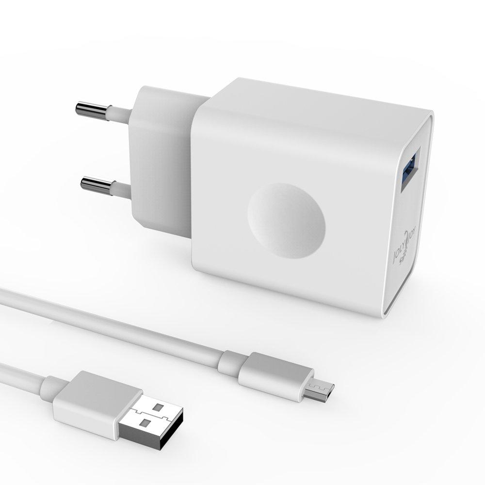 [Qualcomm Quick Charge 3.0] Joly Joy Cargador rápido 1 USB 18W