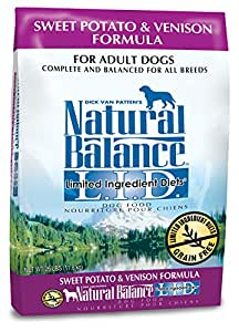 Dick van patten 39 s natural balance limited ingredient diets for Natural balance sweet potato and fish