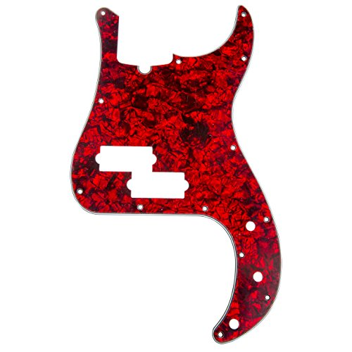 Pearl Red Guitar - D'Andrea Precision Bass Pickguards for Electric Guitar, Red Pearl