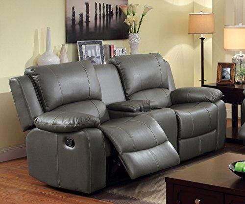Furniture of America Robyn 2-Recliner Love Seat