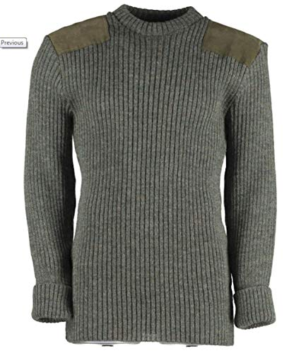 (TW Kempton Rothley Crew Neck Sweater (Derby Tweed, Large (46-48 inch)))