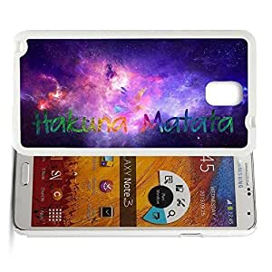Africa Ancient Proverb Color Accelerating Universe Star Design Pattern HD Durable Hard Plastic Case Cover for Samsung Galaxy Note 3