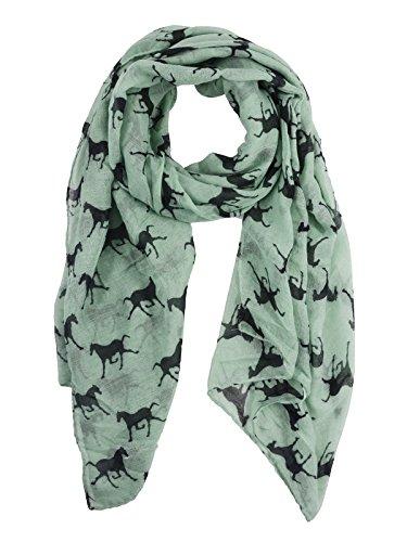 (Passionate Adventure Women Scarf Warm Christmas Gift Cozy Cape Big Blanket E Green)