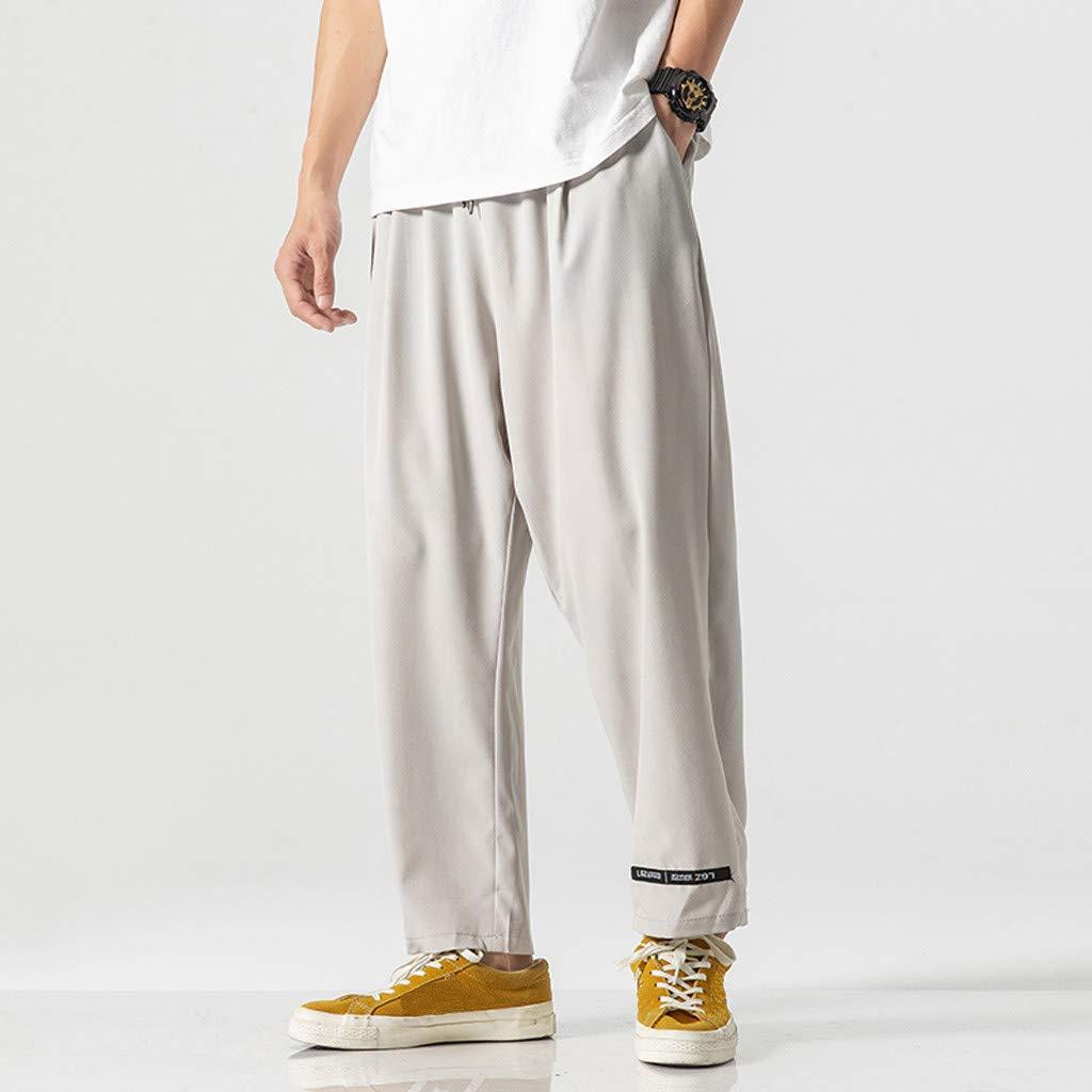 Pantalones De Verano Hombre Harem Pantalones De Hombre Pantalones ...