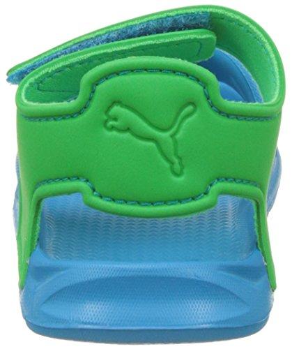 Puma Wild Sandal Injex Inf, Zapatillas Unisex Niños Azul (Blue Danube-andean Toucan 01)