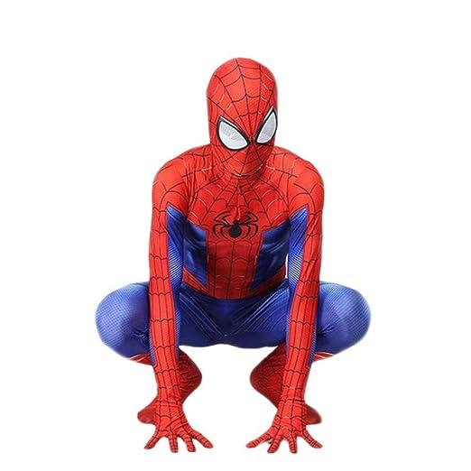 WEGCJU 3D Impresión Digital Traje De Spiderman Cosplay Siam Todo ...