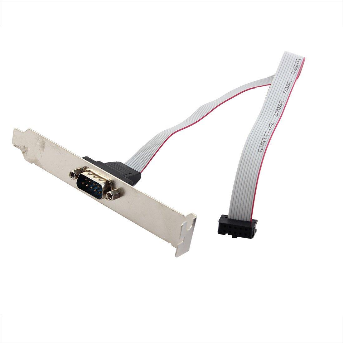 9 Pins auf IDC VGA Stecker Anschlusskabel 10 Pins: Amazon.de: Elektronik