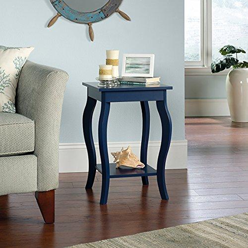 Sauder Harbor View Side Table in Indigo Blue