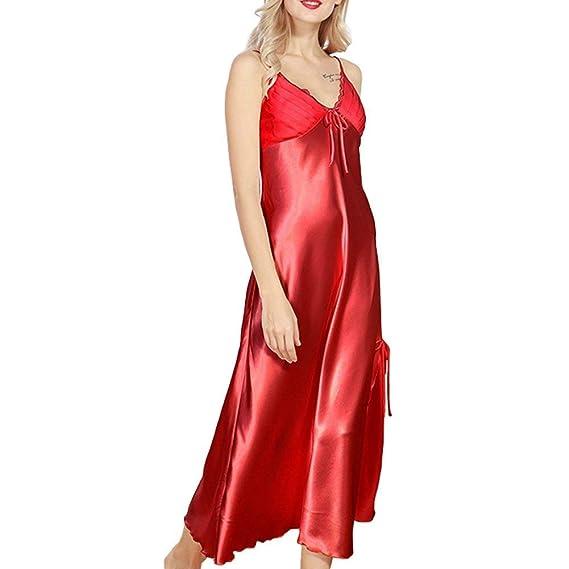 Pyjama Sleepwear Soyeux Nighties Betrothales Doux Satin Nightdress XwqIZT6F