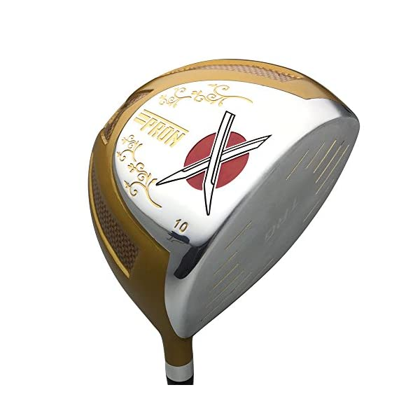 Japan-Epron-TRG-Driver-3-5-Fairway-Wood-4-Sw-Iron-and-Putter-Golf-Club-SetLeather-CoverPack-of-16R-FlexGrip-06-inches