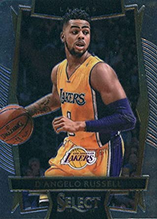 636c376b0ac 2016-17 Panini Select  61 D Angelo Russell Los Angeles Lakers Basketball  Card