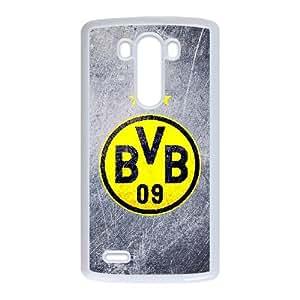 LG G3 Custom Cell Phone Case Borussia Dortmund BVB 09 FC Logo Case Cover WQFF36219