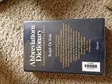 Abbreviations Dictionary, Ralph De Sola, 0444003800