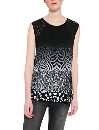 Desigual - Camiseta - para mujer negro