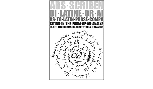 Ars scribendi latino dating