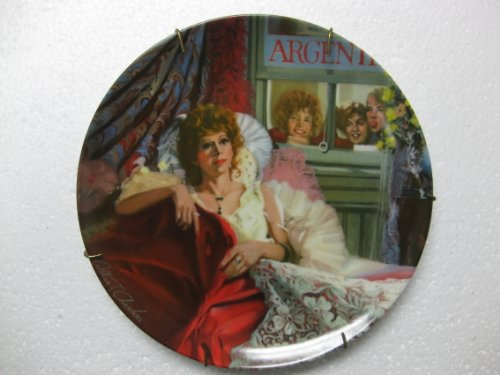 """Edwin M. Knowles- Little Orphan Annie China Collector Plate """"Annie & Miss Hannigan"""" 6th In Series Of 8 (1982 Knowles China Co/Tribune)"""
