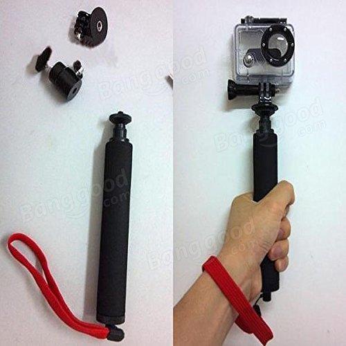 PhilMat Manche télescopique extensible monopode poche pour GoPro caméra Hero123