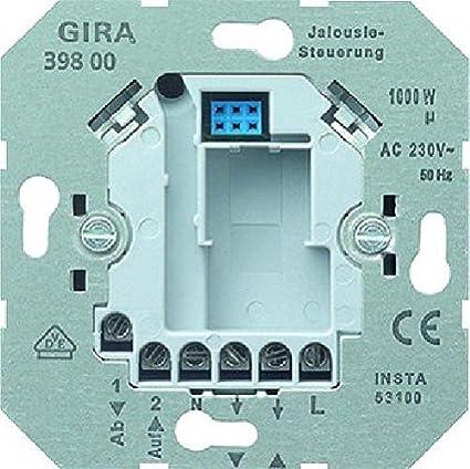 Gira 39800 - Interruptor de persianas y puertas automáticas