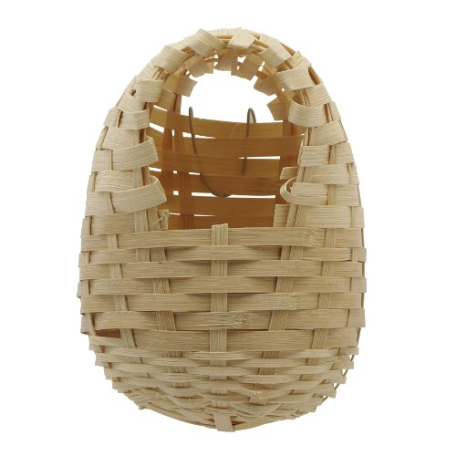 Living World Bamboo Finch Nest Play Toy ()