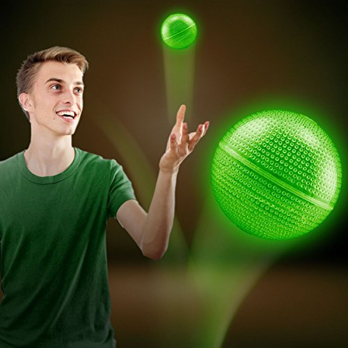 UPC 716148310702, Green Glow Bounce Ball