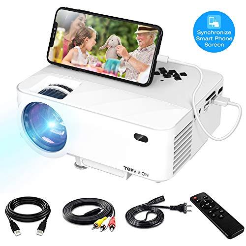 Mini Projector, TOPVISION Video ...