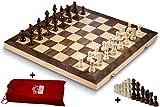 Smart Tactics 16 Folding Chess Set Made By FSC Certified Wood - Premium ...