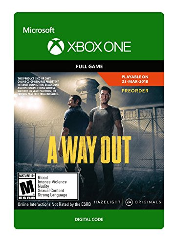 Picture of an A Way Out Xbox