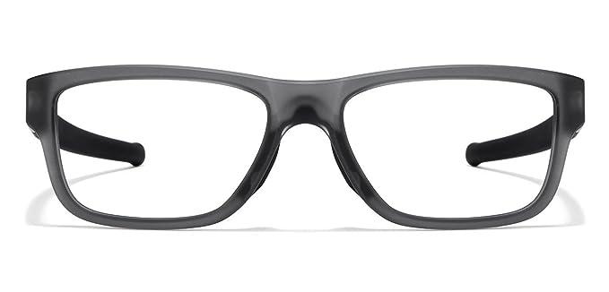 67da43f3b87 ... cheapest oakley marshal mnp ox8091 0253 grey transparent matte black  eyeglasses for men women 445bd bee58