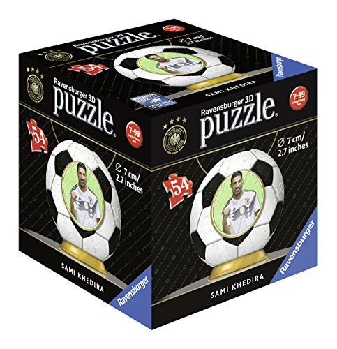 Ravensburger 11931 Sami Khedira Dfb Giocatore 3d Di Puzzle