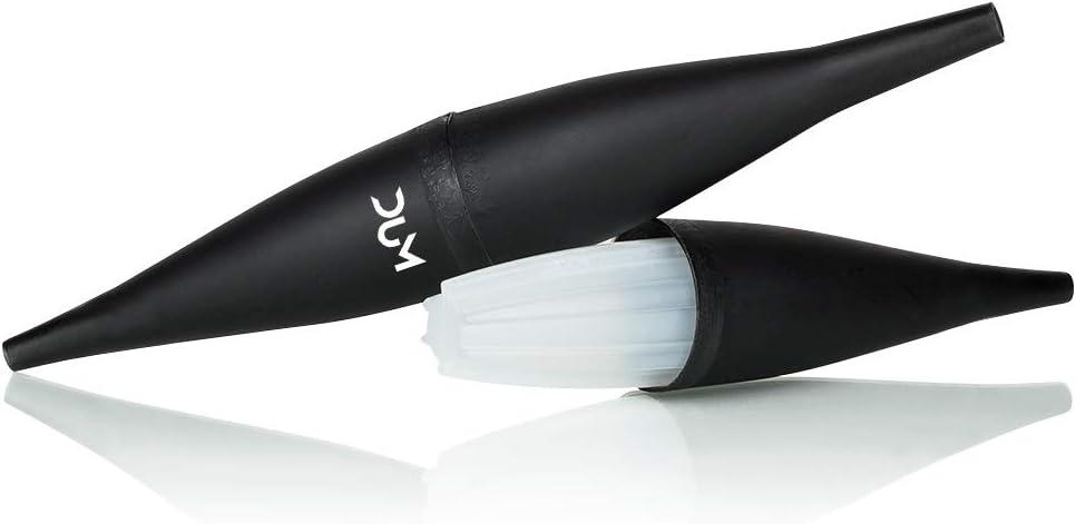 DUM Boquilla para shisha Ice Bazooka negra para manguera de hielo.