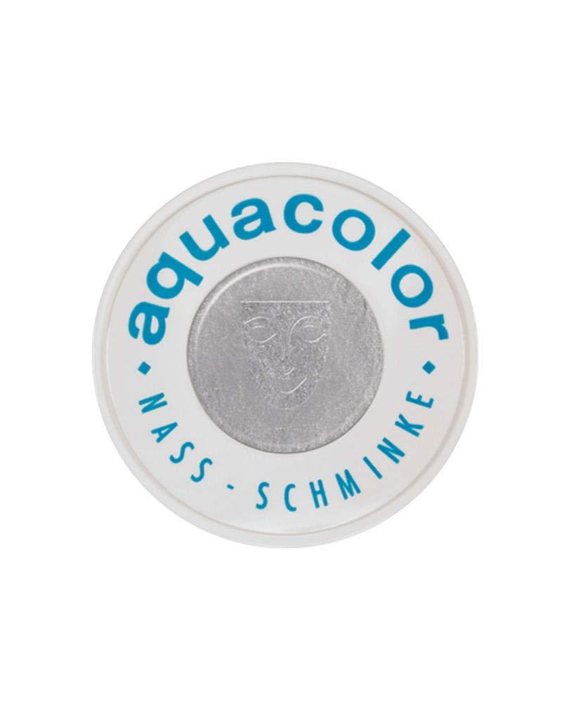 Horror-Shop Aquacolor silber metallic 30ml